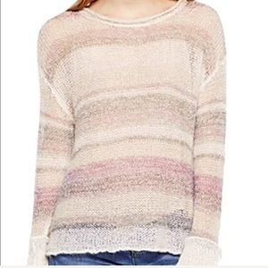 Vince Camuto Sweater Stripes Size Large New